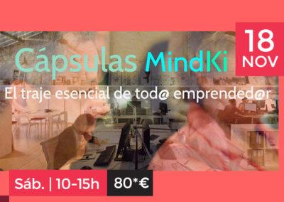 Taller Cápsulas MindKi 1 para Emprendedor@s