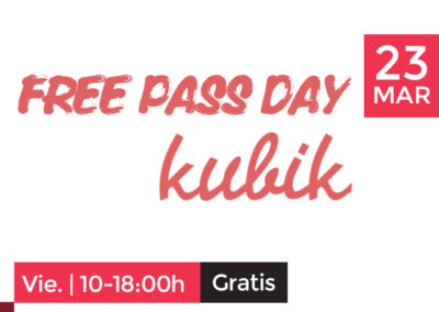 23 de Marzo: Free Pass Day en Kubik Barcelona con Afterwork y Networking