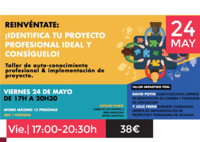 REINVÉNTATE: Identifica tu proyecto profesional ideal y consíguelo